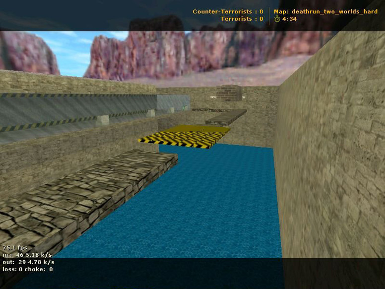 «deathrun_two_worlds_hard» для CS 1.6