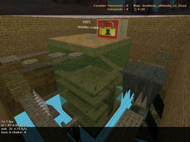 «deathrun_ultimate_v2_fixed» для CS 1.6