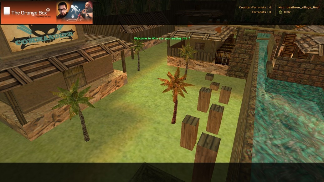 «deathrun_village_easy_fixed» для CS 1.6