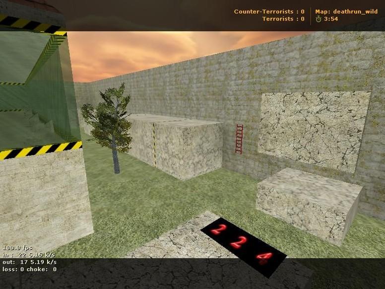 «deathrun_wild» для CS 1.6