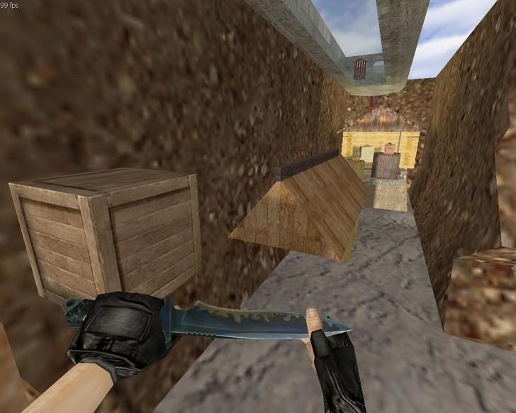 «deathrun_woods2» для CS 1.6