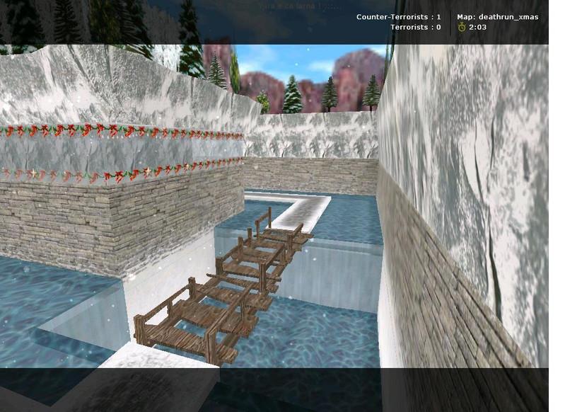 «deathrun_xmas» для CS 1.6
