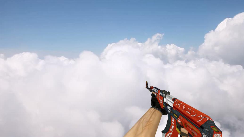«Default AK-47 Bloodsport» для CS 1.6