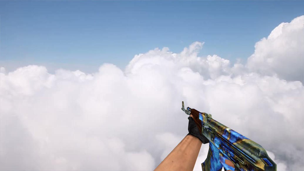 «Default AK-47 Case Hardened» для CS 1.6