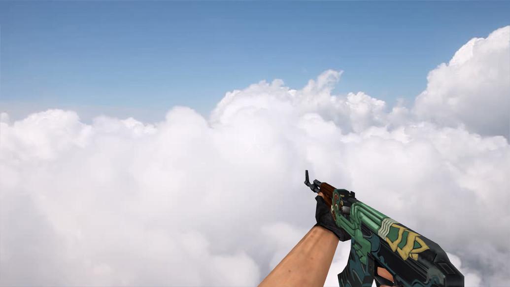 «Default AK-47 Fire Serpent» для CS 1.6