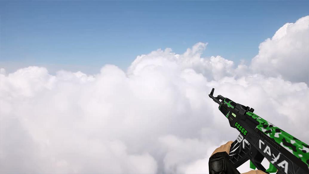 «Default AK-47 Grimmjow» для CS 1.6