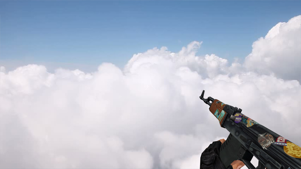 «Default AK-47 Jet Set» для CS 1.6