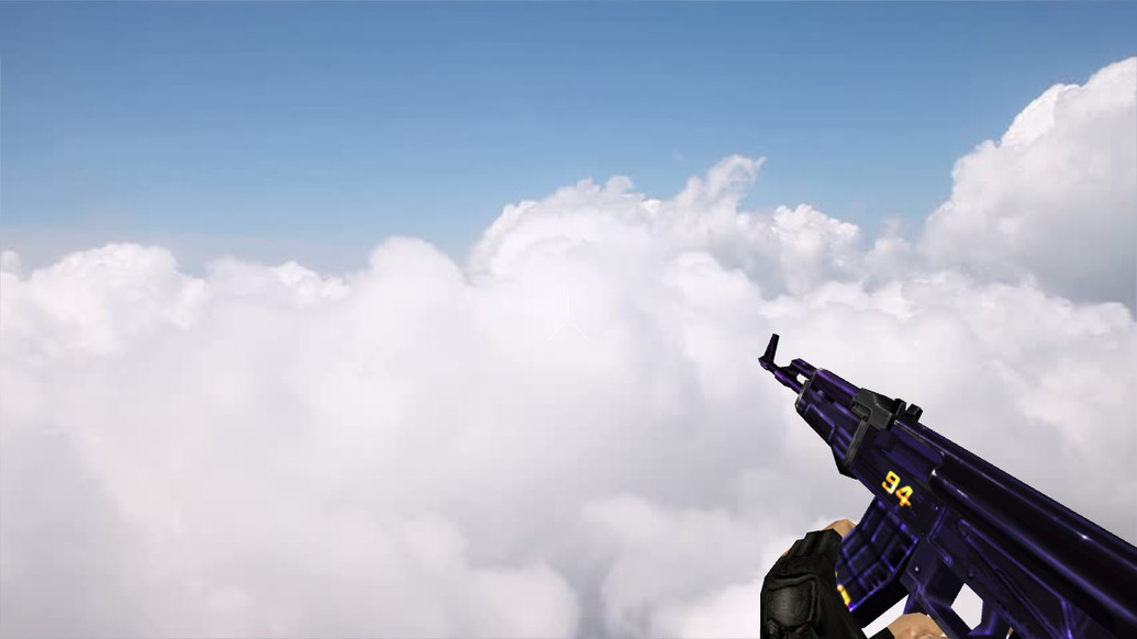 «Стандартный АК-47 «Purple 94»» для CS 1.6