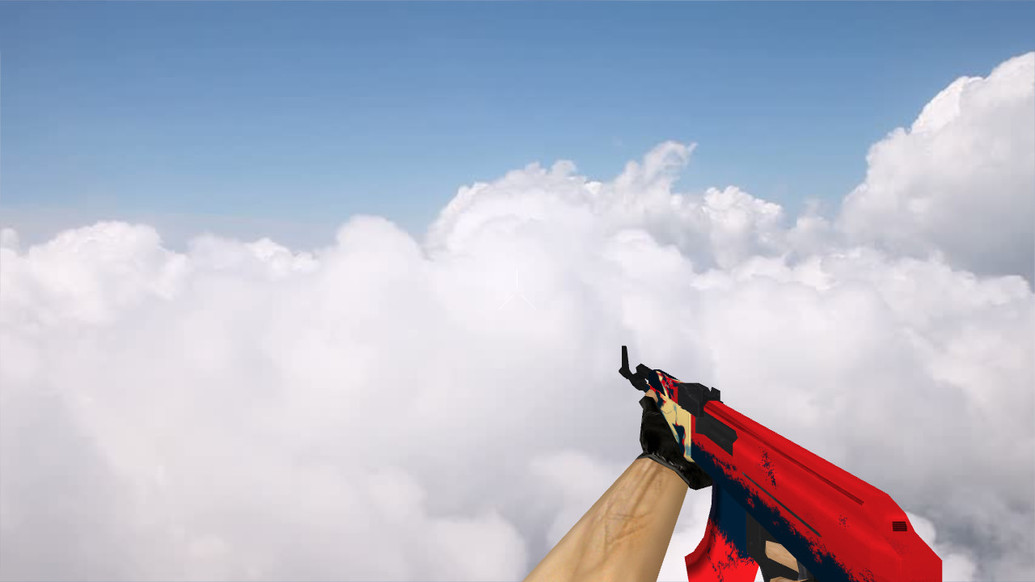 «Стандартный АК-47 «Red Force»» для CS 1.6