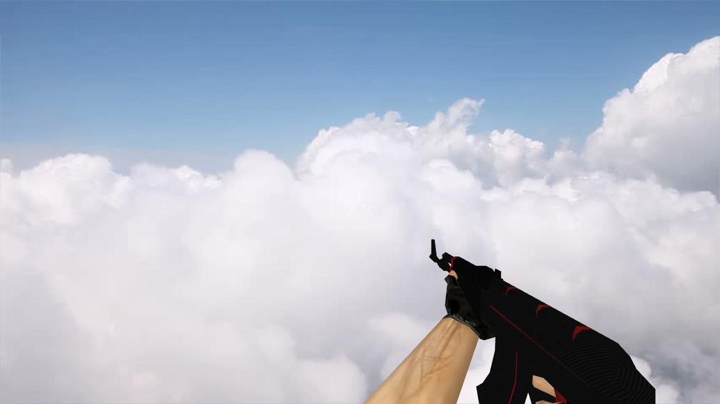 «Стандартный АК-47 «Красная линия»» для CS 1.6