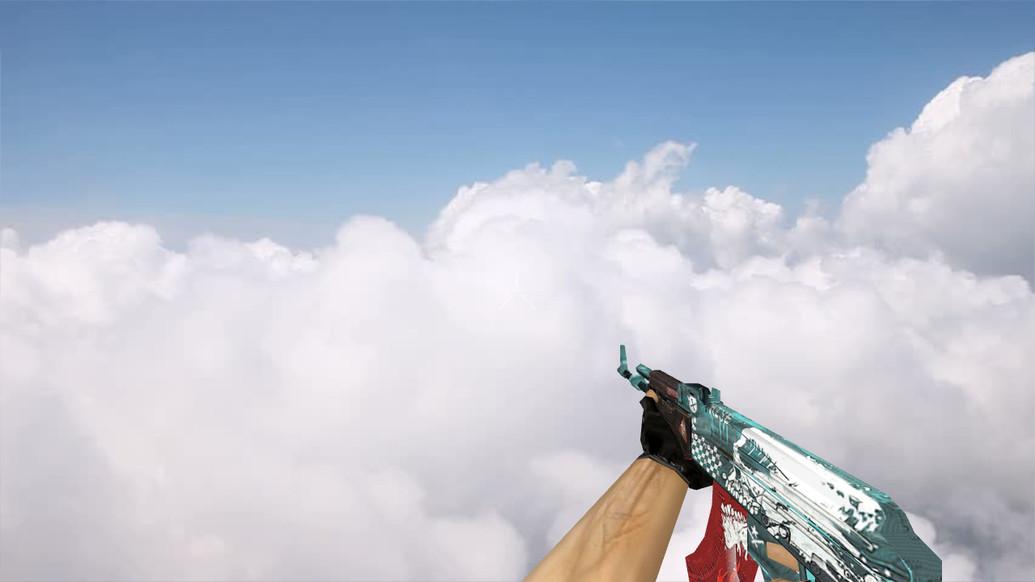 «Default AK-47 Rise» для CS 1.6