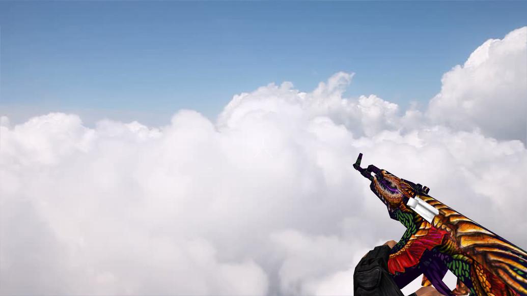 «Default AK-47 UFO» для CS 1.6
