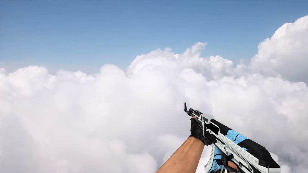 «Default AK-47 Vulcan» для CS 1.6
