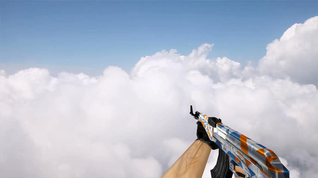 «Default AK-47 Whiteout Edition» для CS 1.6