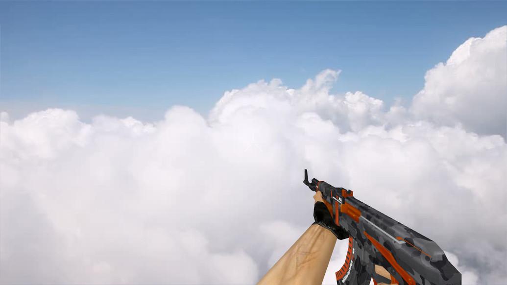 «Default AK47 Vanquish» для CS 1.6