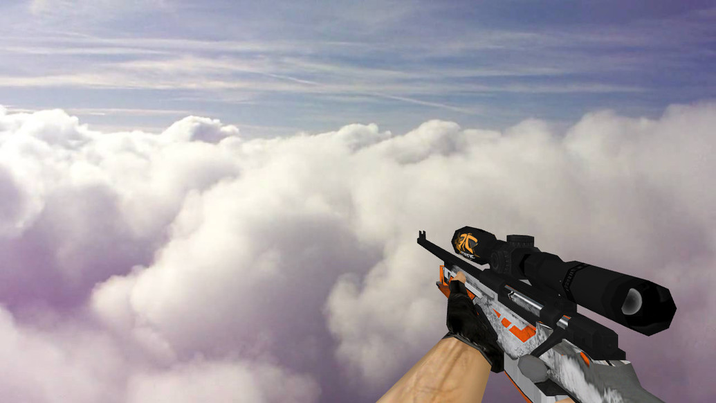 «Default AWP Asiimov fnatic» для CS 1.6