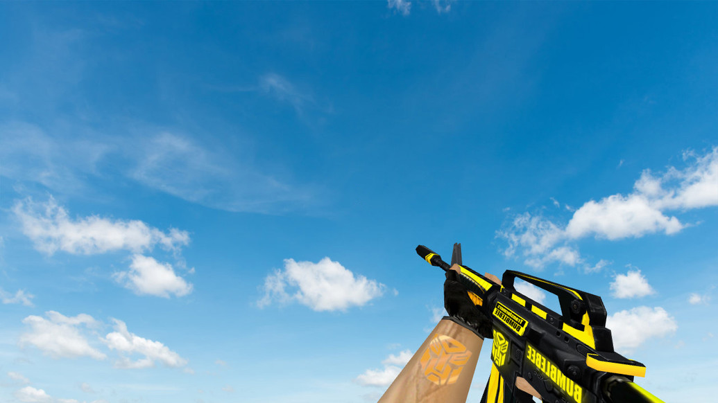 «Default M4A1 BUMBLEBEE» для CS 1.6