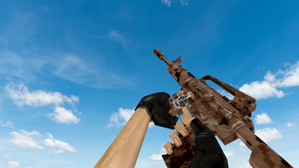 «Default M4A1 Fallout» для CS 1.6