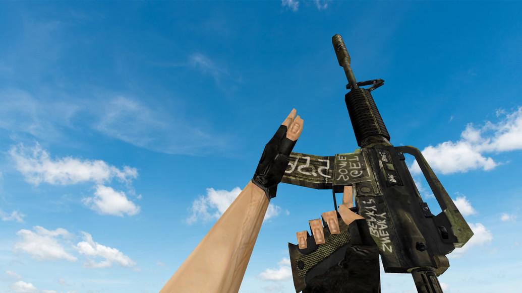 «Default M4A1 «Взгляд в прошлое»» для CS 1.6