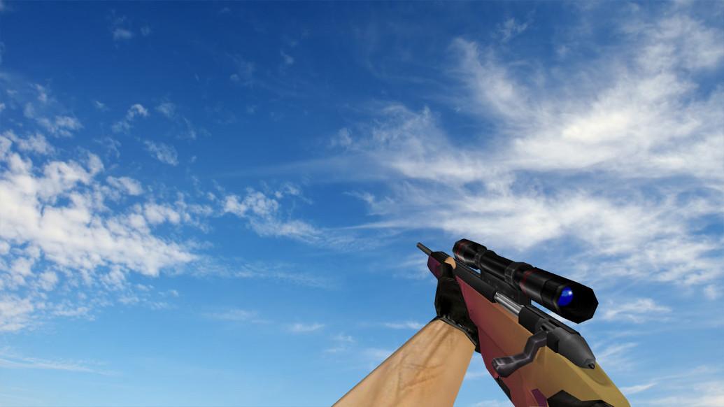 «Default Scout «Градиент»» для CS 1.6