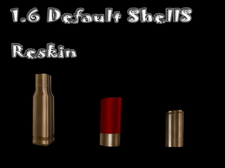 «Default Shells Skin Hack» для CS 1.6