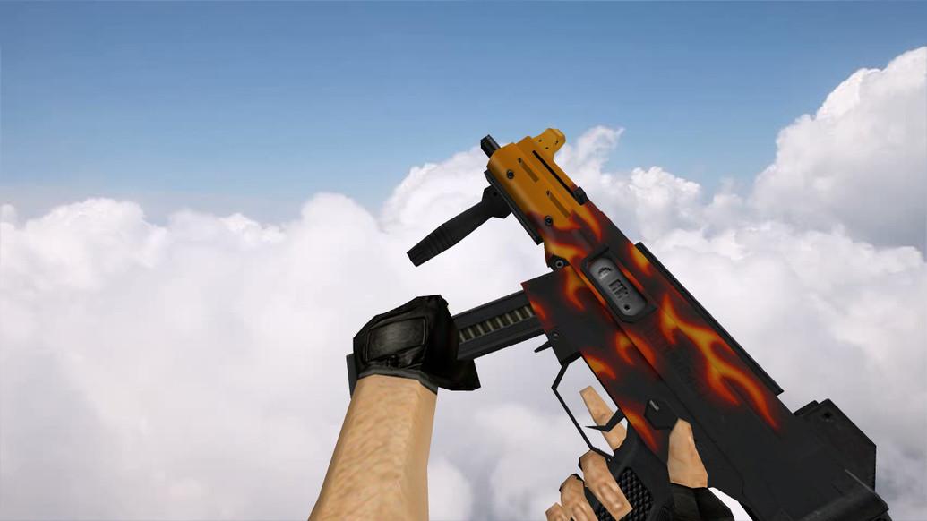 «Default UMP-45 «Пламя»» для CS 1.6