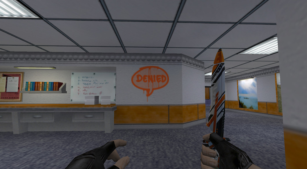 «Отказ» для CS 1.6
