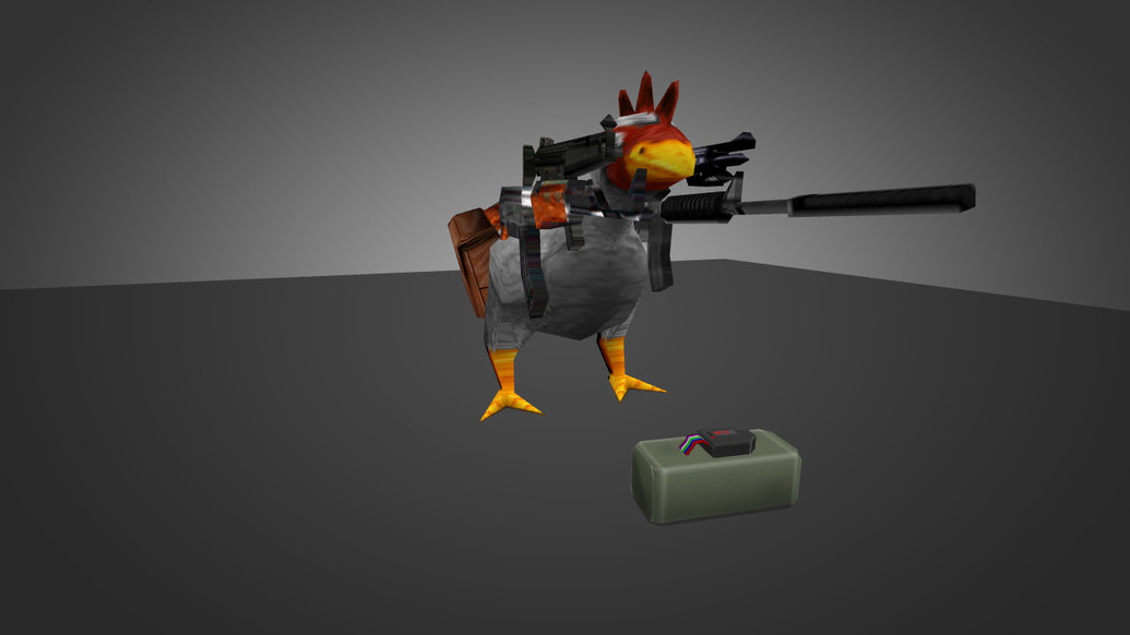 «Die-Hard Chicken» для CS 1.6