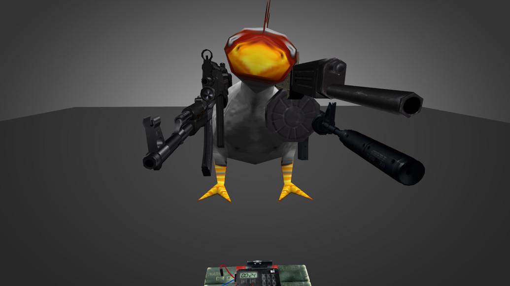 «Die-Hard Chicken1» для CS 1.6