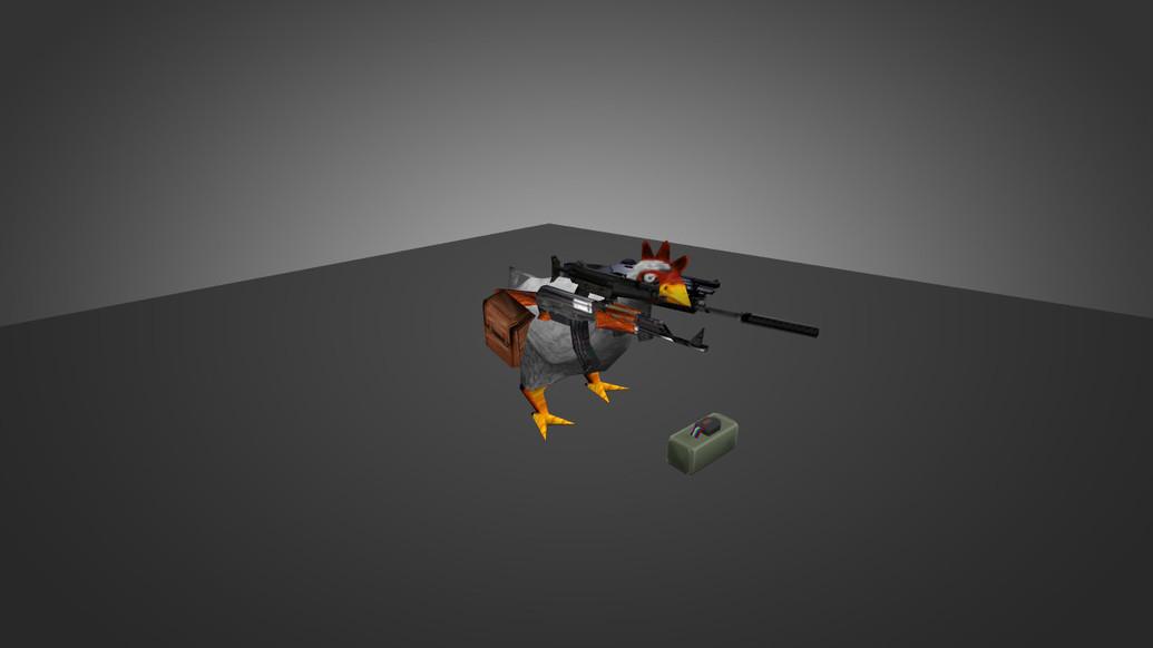 «Die-Hard Chicken» для CS 1.6