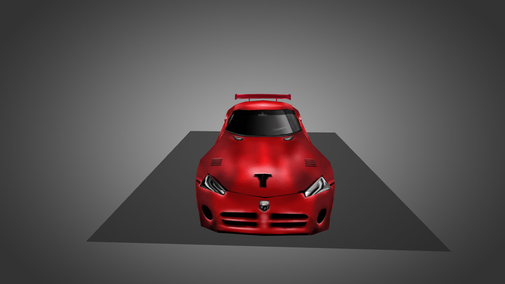«Dodge Viper Red» для CS 1.6