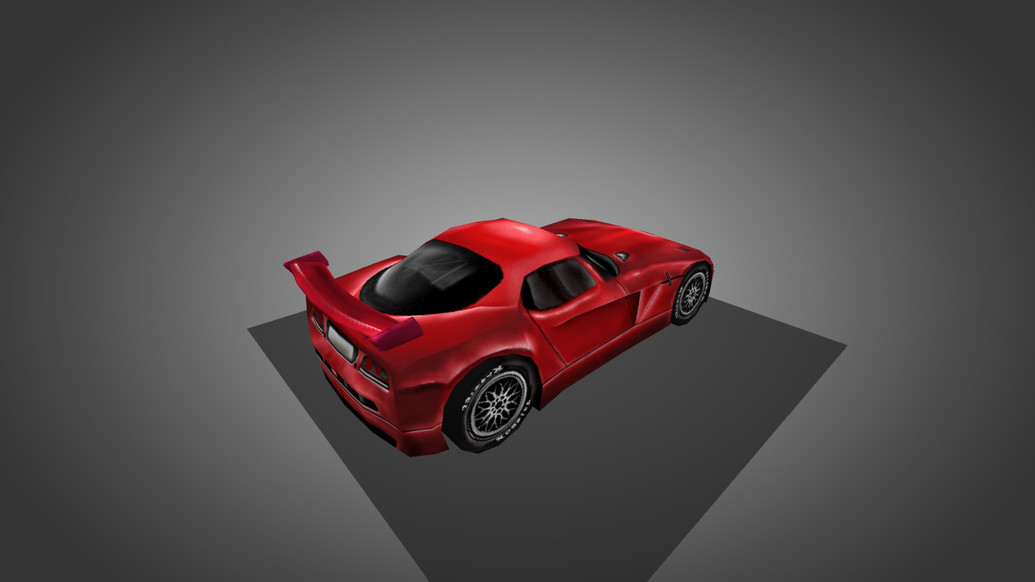 «Dodge Viper Red» для CS 1.6