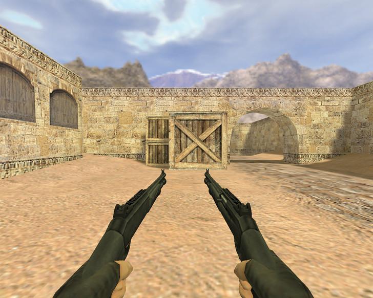 «Dual Benelli M4» для CS 1.6