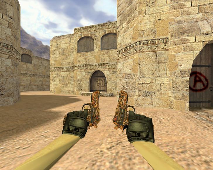 «Dual Elites Узор мертвеца» для CS 1.6