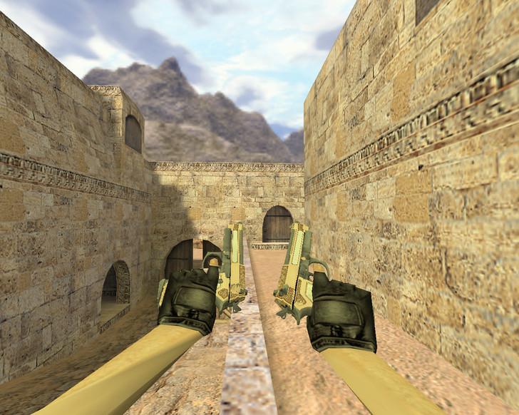 «Dual Elites Золотой картель» для CS 1.6