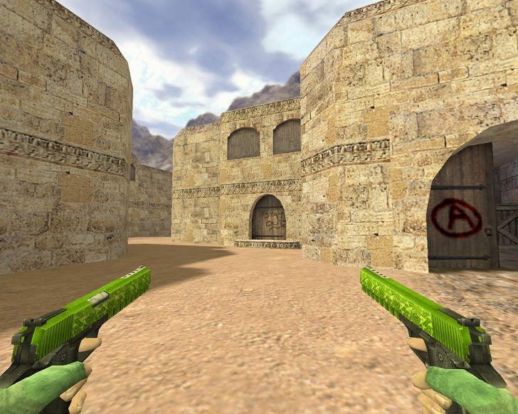 «Dual Elites Двойное отравление» для CS 1.6