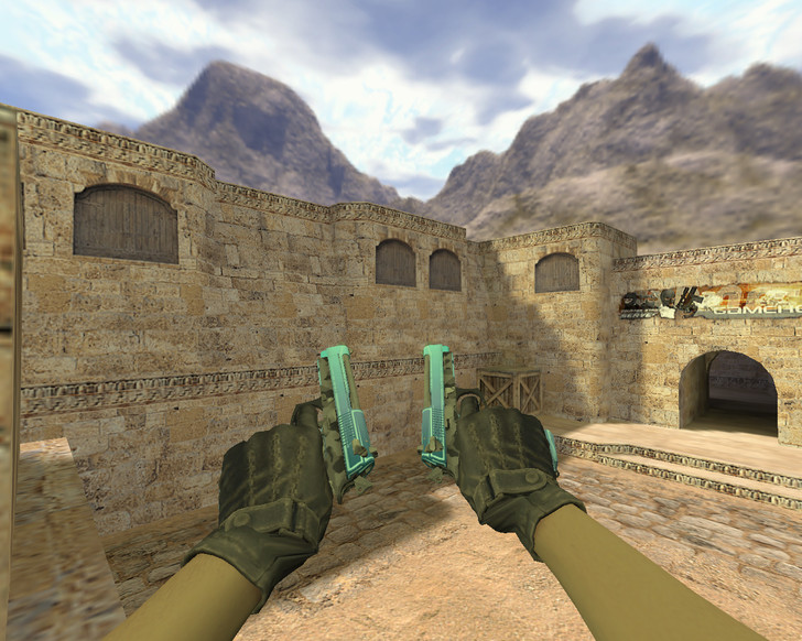 «Dual Elites Городской шок» для CS 1.6