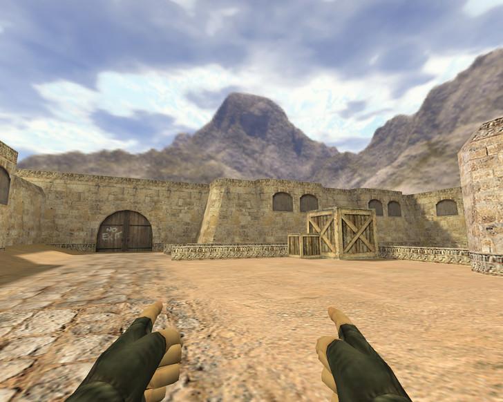 «Два пистолета из пальцев» для CS 1.6