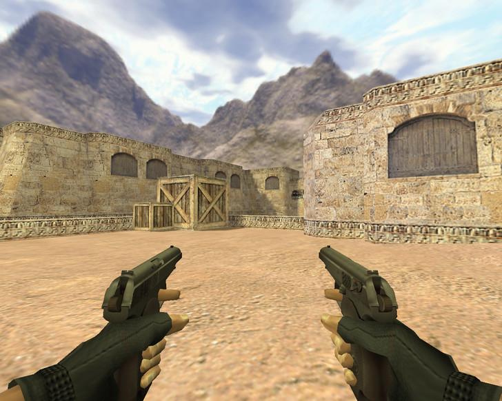 «Два пистолета Макарова» для CS 1.6