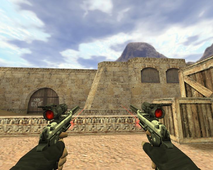 «Два тактических пистолета» для CS 1.6