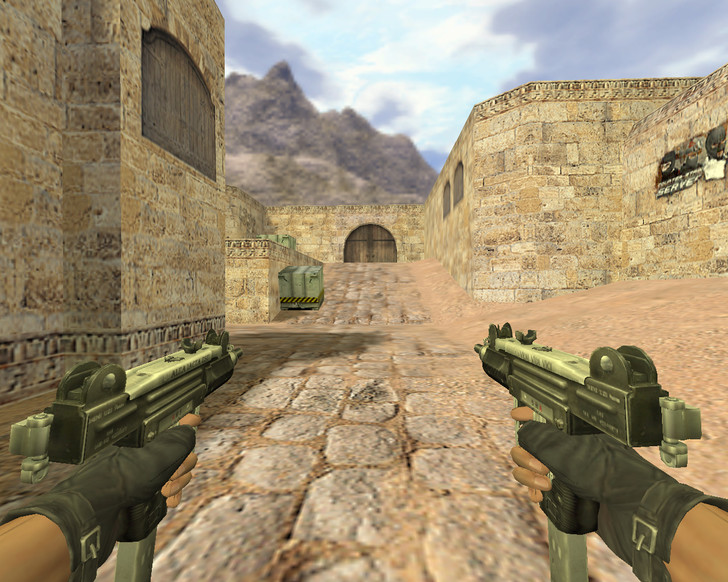 «Dual Uzi» для CS 1.6