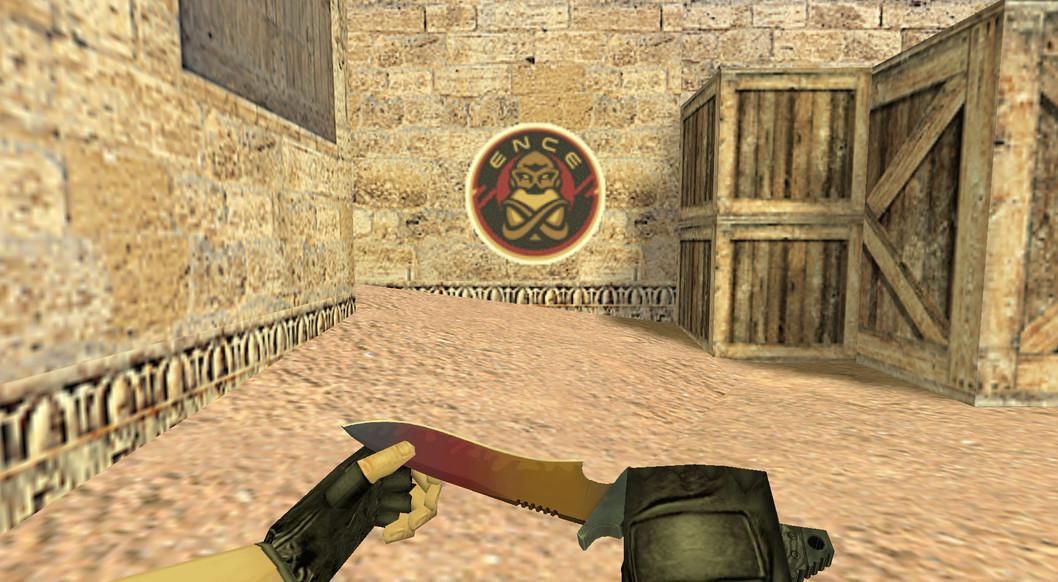 «ENCE eSports Logo» для CS 1.6