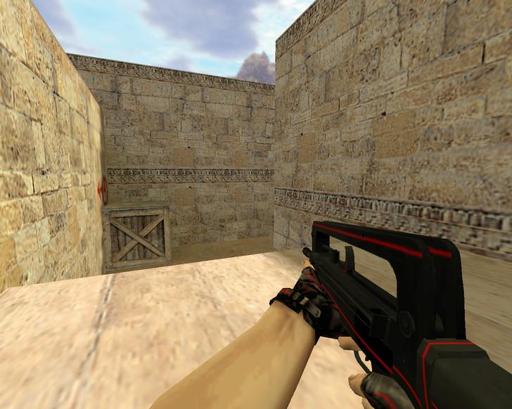«Famas Красная линия» для CS 1.6