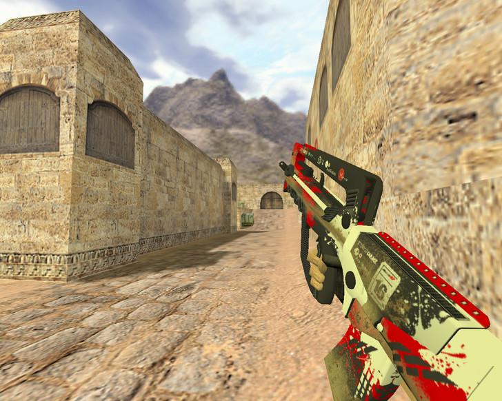 «Famas Защитный каркас» для CS 1.6