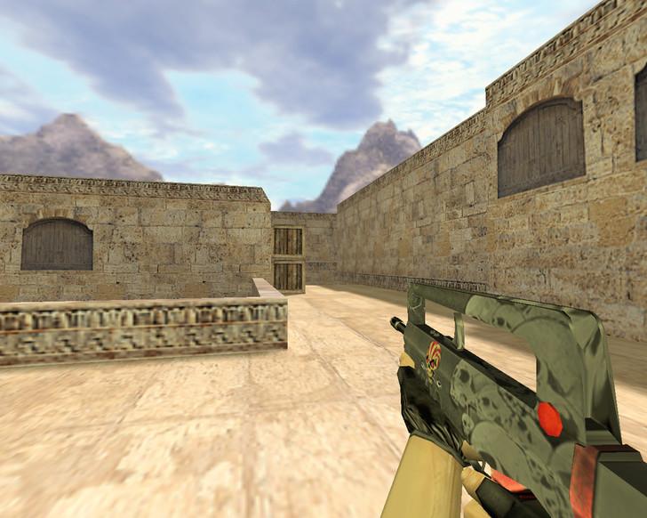 «Famas Череп» для CS 1.6