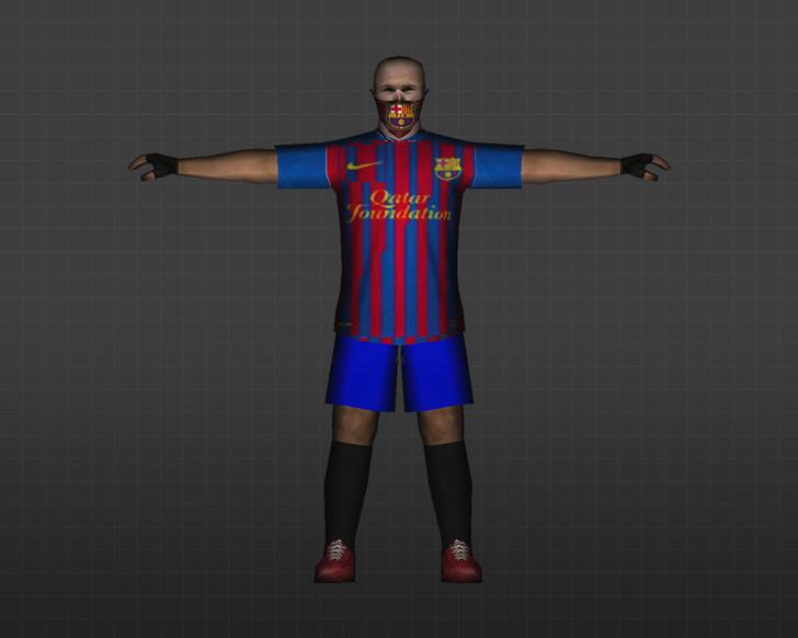 «Лео Месси – Барселона» для CS 1.6