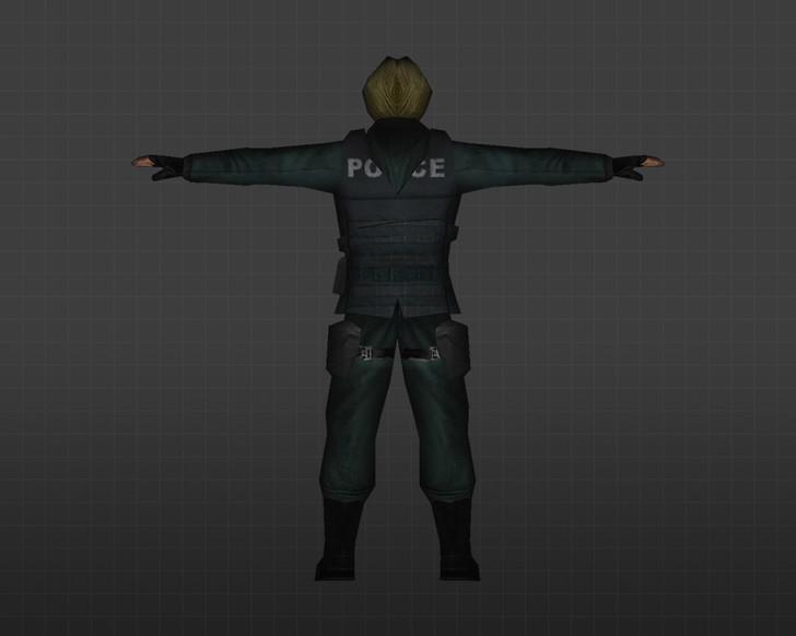 «Женщина-полицейский» для CS 1.6
