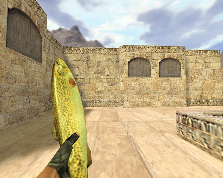 «Рыба-нож» для CS 1.6