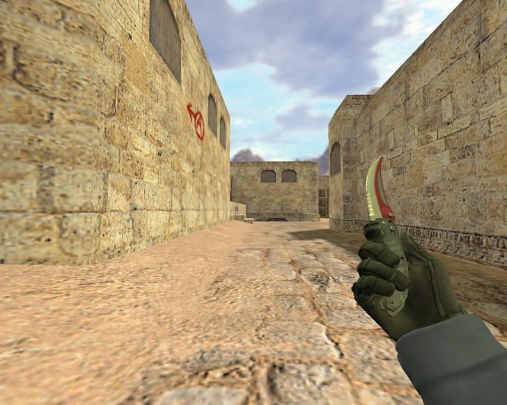 «Складной нож Автотроника» для CS 1.6