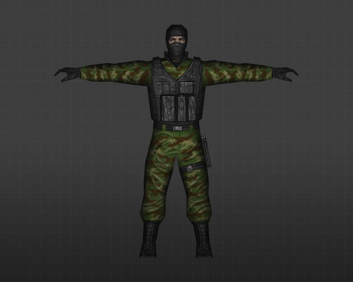«Лесной спецназ» для CS 1.6